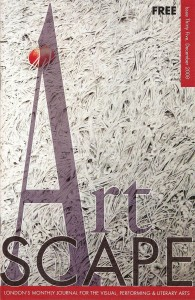 image of artscape Dec 2008 cover