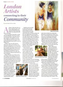 imatge of city woman article july aug 2010